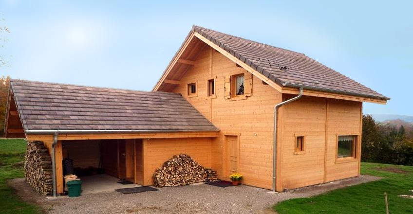 Agrandissement et r novation de chalets chalets sage for Agrandissement en ossature bois